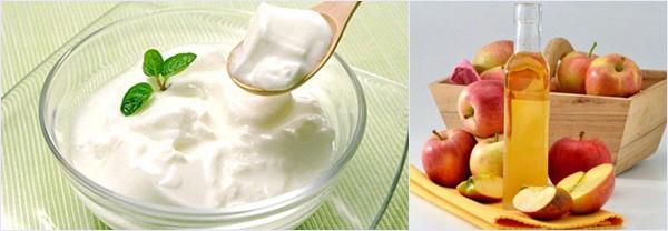 Giấm táo và bột mì giúp chữa hôi nách