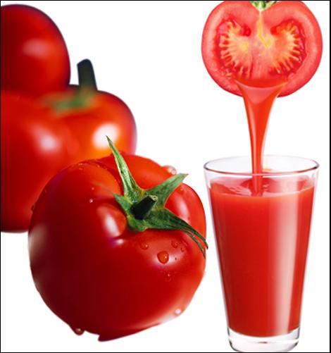 Nước ép cà chua giúp làm trắng da