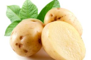 Trị mụn, dưỡng trắng da bằng khoai tây