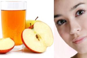 tẩy nốt ruồi bằng giấm táo