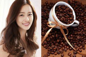 Nhuộm tóc bằng cafe