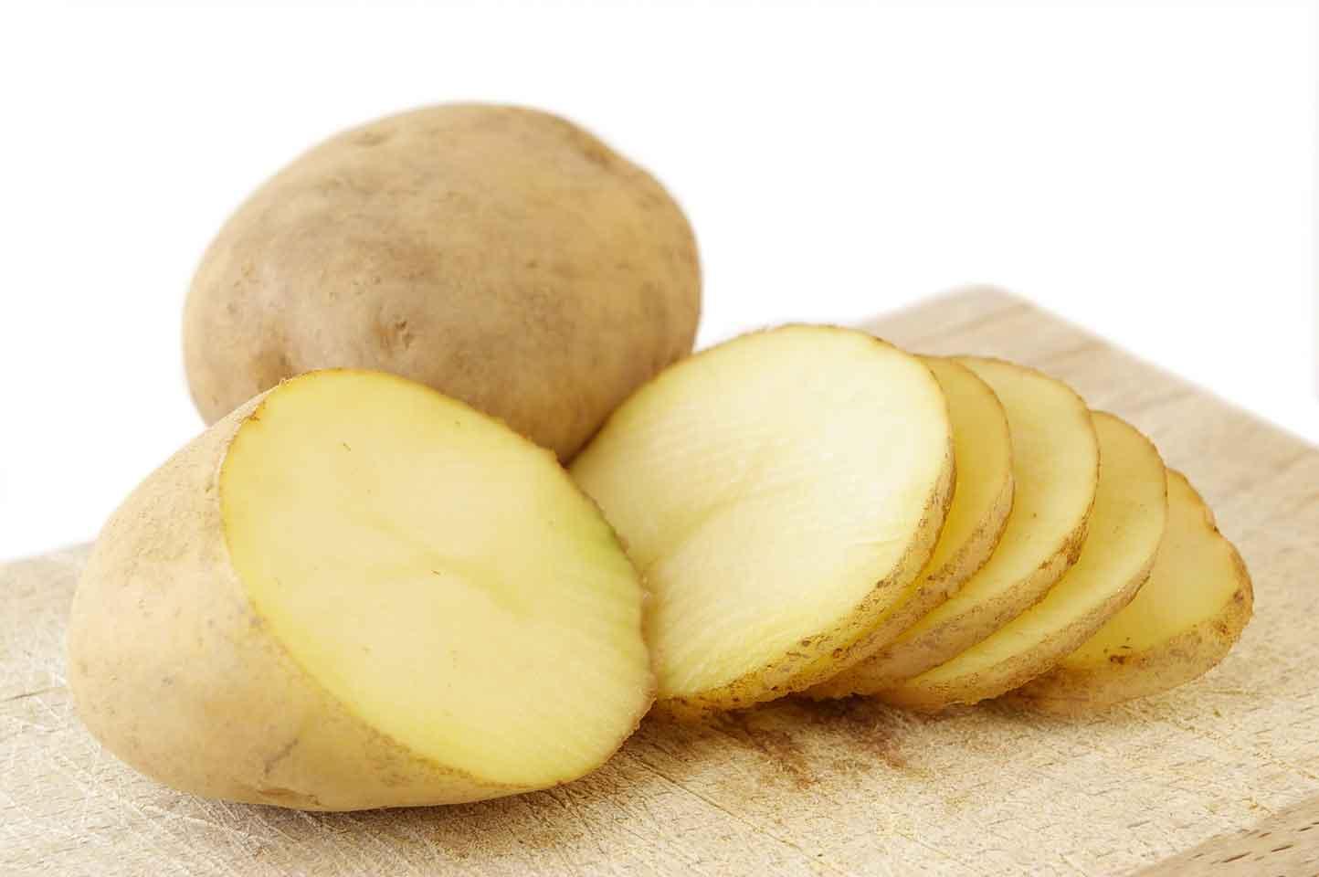 Thái mỏng khoai tây