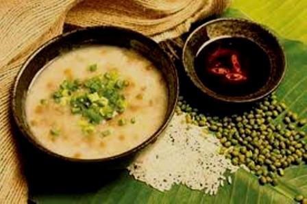 Món ăn từ sen: Cháo lá sen đậu xanh