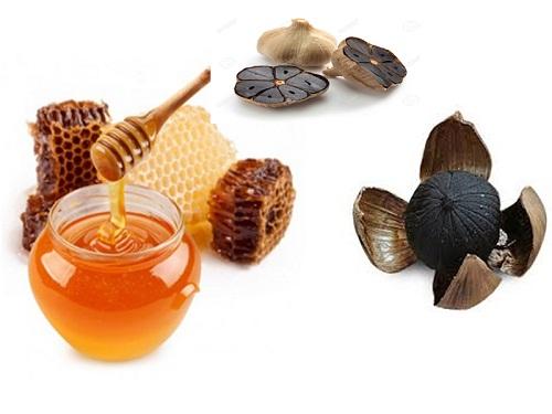 tỏi đen ngâm mật ong rừng