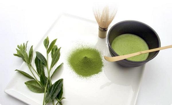 cách làm đẹp bằng trà xanh