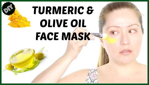 Cách làm mặt nạ tinh bột nghệ dầu oliu trị nám & tàn nhang