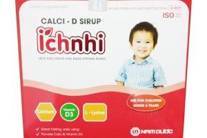 Canxi ích nhi: thuốc bổ sung canxi cho trẻ