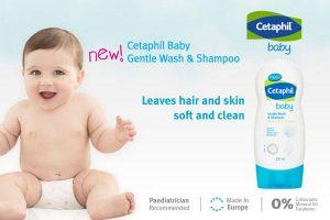 Sữa tắm cho bé cetaphil