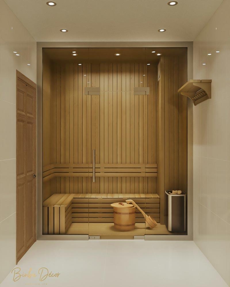 phòng tắm hơi spa