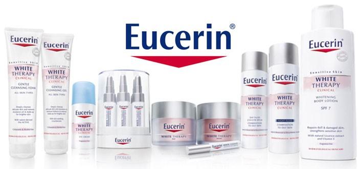 Eucerin vừa mang đặc tính của mỹ phẩm làm đẹp vừa có công dụng điều trị và phục hồi của 1 dược phẩm an toàn với mọi làn da