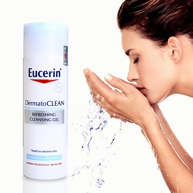 toner eucerin cho da mụn