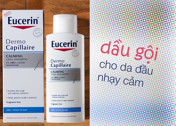 Dầu gội đầu Eucerin Dermocapillaire pH5 Mild Shampoo 250ml