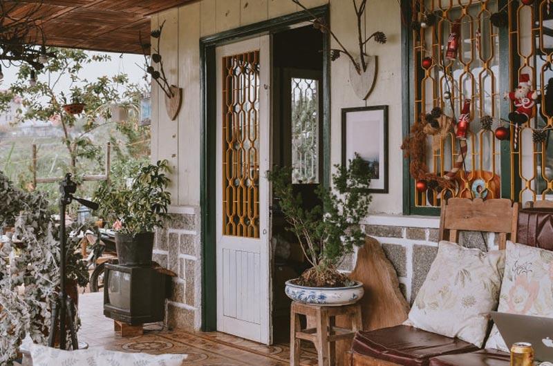 thiết kế homestay phong cách Vintage
