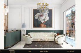 Tạo ra một không gian thiết kế spa cao cấp giúp mang lại cho khách hàng cảmxúc tốt là điều rất quan trọng.