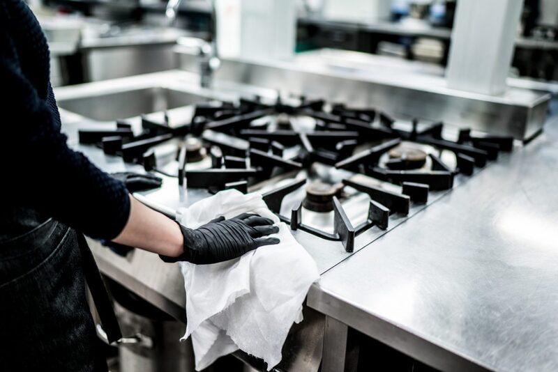 Thiết kế bếp dễ dàng cho việc vệ sinh thường xuyên