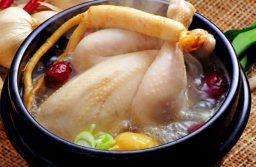 Cách làm gà tần sâm Hàn Quốc chuẩn vị