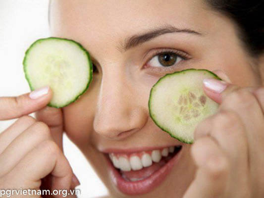 Bí đao giảm thâm quầng mắt hiệu quả