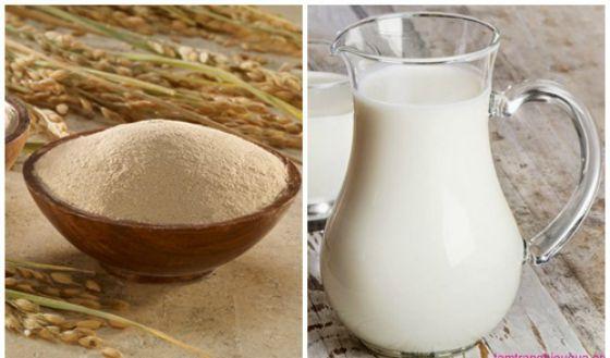 3 cách làm trắng da mặt bằng cám gạo hiệu quả nhất